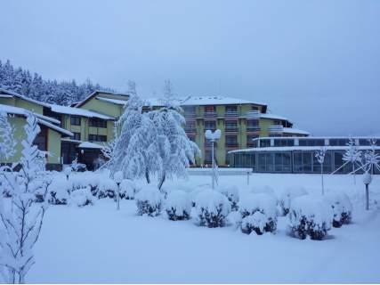 Посрещнете Коледните празници в Хотел Римска Баня, Баня! Включва минерални басейни, вечеря и закуска!