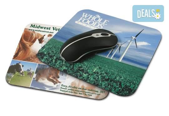 Подарък за приятел! Подложка за мишка със снимка и надпис от Офис 2