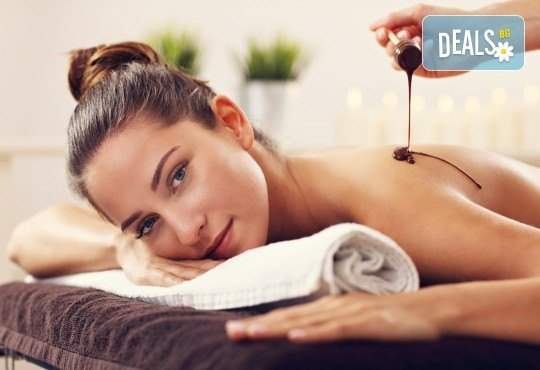 Шоколадов релаксиращ масаж на тяло, бейлис и шоколадов комплимент в Senses
