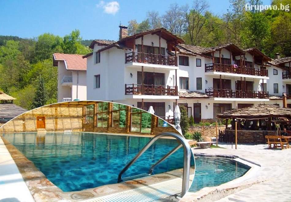 Отпочивайте в хотел Петрелийски, Огняново! Включва зона за релакс, басейн с минерална вода и изхранване вечеря/закуска!