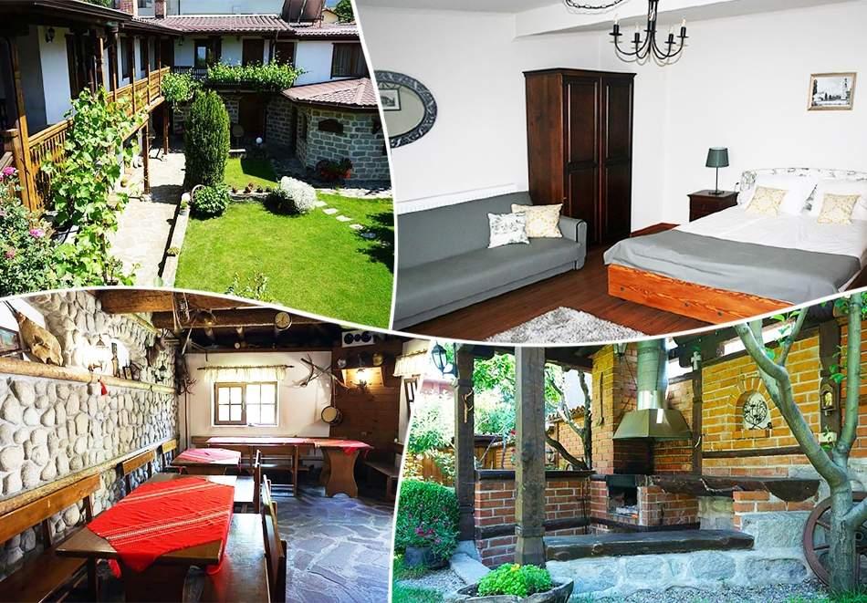 1 нощувка в самостоятелна къща за 18 човека + механа от Къща за гости Клечерова, Банско