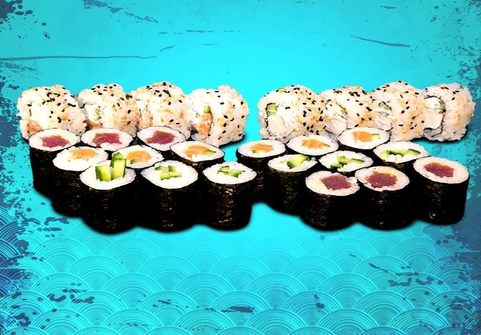 Вкусно хапване от Йоко суши! Включва суши сет