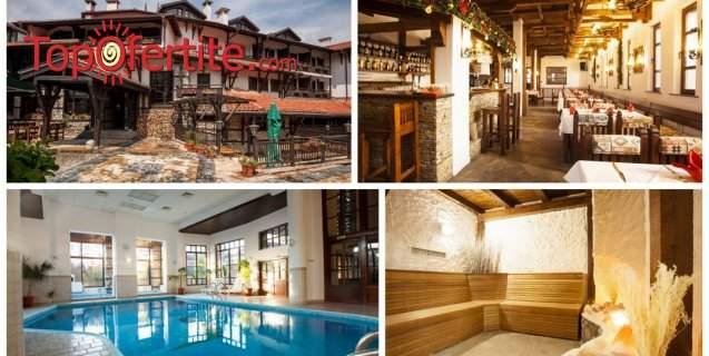 Хотел Танне 4*, Банско! Нощувка на база закуска или закуска и вечеря + минерален басейн 33°, джакузи, сауна, парна баня и СПА на цени от 31,50 лв. на човек