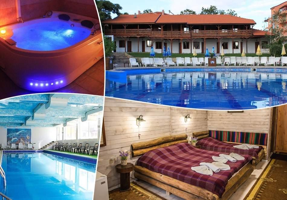 Почивка в Еко стаи Манастира, Хисаря! Включва изхранване вечери и закуски! Плюс зона за релакс и минерални басейни