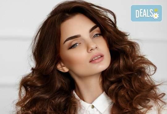 Красива визия от Салон Blush Beauty! Включва Прическа със сешоар и терапия