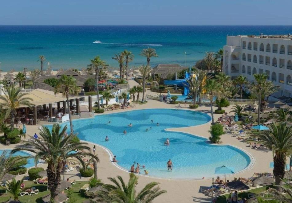 Почивка в хотел  VINCCI NOZHA BEACH & SPA 4*, Хамамет, Тунис 2021. Чартърен полет от София + 7 нощувки на човек на база All Inclusive!