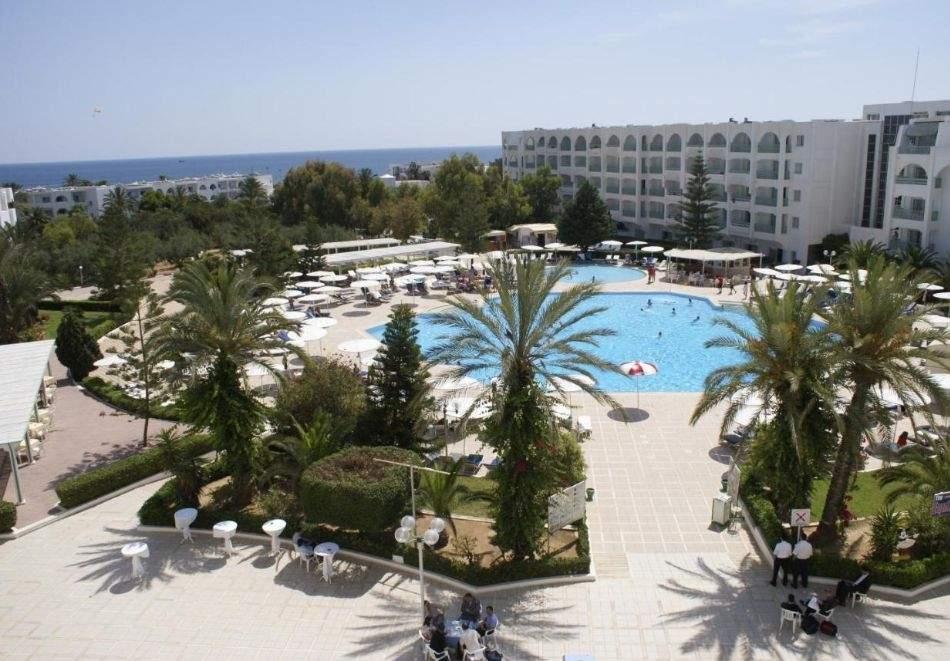 Почивка в хотел EL MOURADI PALACE 4*, Сус, Тунис 2021. Чартърен полет от София + 7 нощувки на човек на база All Inclusive!