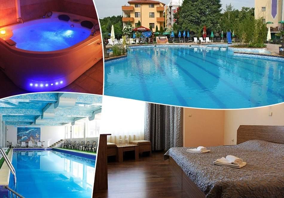 Топ оферта! Релакс в хотел Албена*2, Хисаря! Включва зона за релакс, минерален басейн, вечери и закуски!