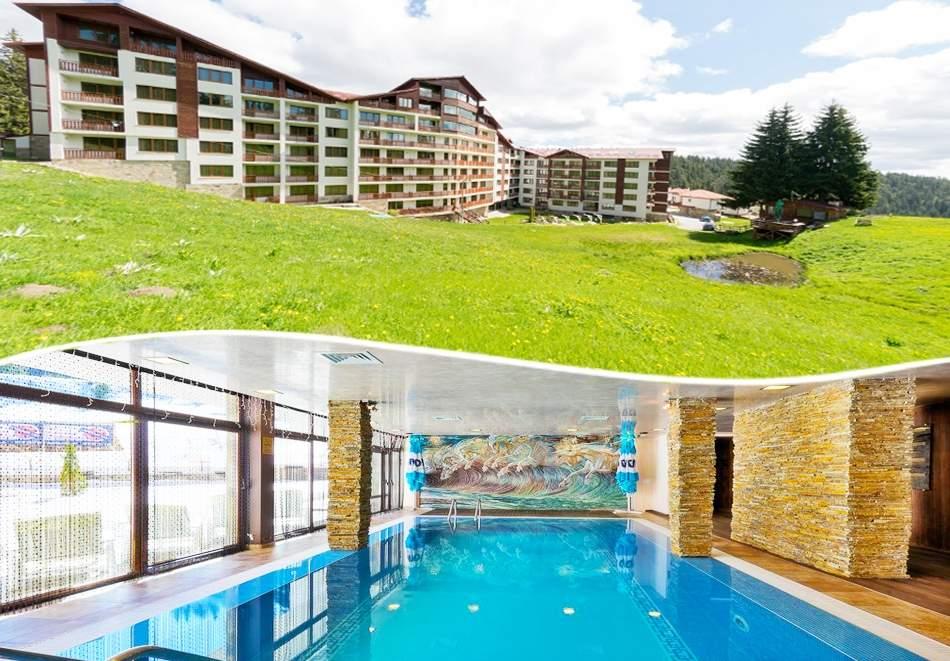 Голям релакс в апарт-хотел Форест Нук, Пампорово! Включва басейн, вечери и закуски!
