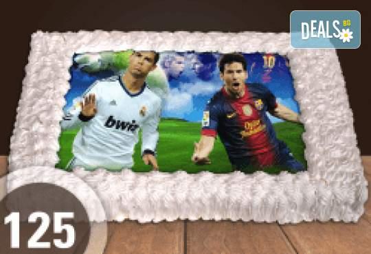 Торта за феновете на футбола и други спортове от Сладкарница Джорджо Джани