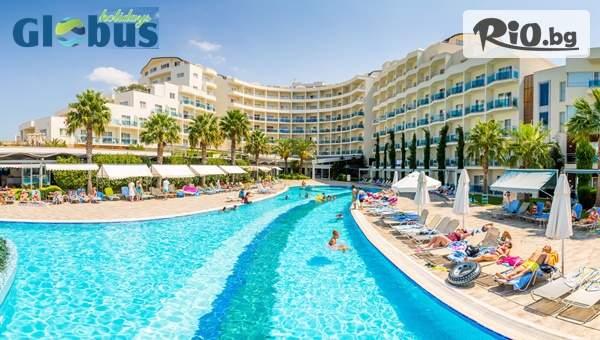 Super Last Minute през Юни на море в Кушадасъ! 5 нощувки на база Ultra All Inclusive + басейни и СПА в Otium Sealight Resort Hotel + Безплатно за дете до 13 години, от Глобус Холидейс