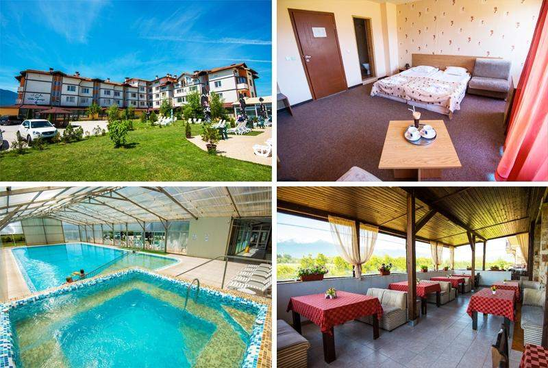 Отпочивайте в Хотел СПА Вита Спрингс, край Банско! Включва басейни с минерална вода и изхранване вечеря/закуска!