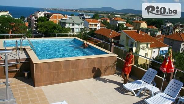 Почивка в Китен от 25 до 31 Август! 3, 5 или 7 нощувки със закуски и вечери + панорамен басейн, от Семеен хотел Русалка