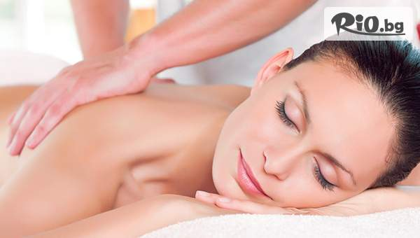 45-минутен класически масаж на гръб с 50% отстъпка, от Салон за красота Слънчев ден