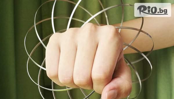 Забавна кинетична спирала Magic Rings с 56% отстъпка, от Topgoods.bg