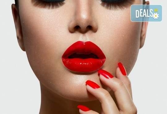 Грижа за вашите устни от The Castle of beauty! Включва Уголемяване на устните с ултразвук и хиалурон!