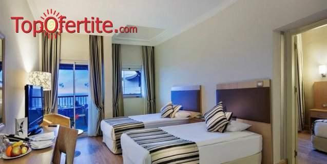Ultra All Inclusive в Crystal Tat Beach Golf Resort & SPA****, Турция за осем дни! + Транспорт