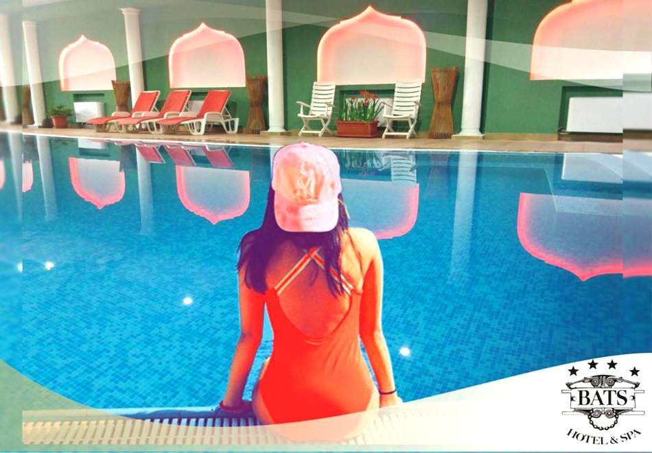 Нощувка на човек със закуска + топъл минерален басейн и релакс зона от хотел Бац****, Петрич