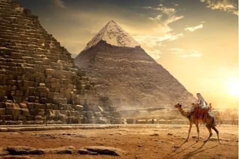Перлите на Египет - Кайро и Хургада: Чартърен Полет с трансфери + 1 нощувка в Кайро със закуска и вечеря в хотел 5* + 6 нощувки на база ALL INCLUSIVE в луксозния PHARAOH AZUR RESORT 5* + Екскурзия до Кайро и Пирамидите + Обяд на корабче по НИЛ на цени от