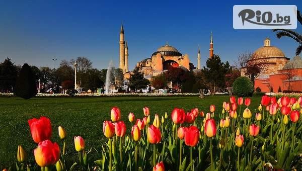 Екскурзия до Истанбул за Фестивала на лалето! 3 нощувки със закуски в Hotel Vision De Lux + възможност за транспорт, водач и посещение на Одрин, от Дениз Травел