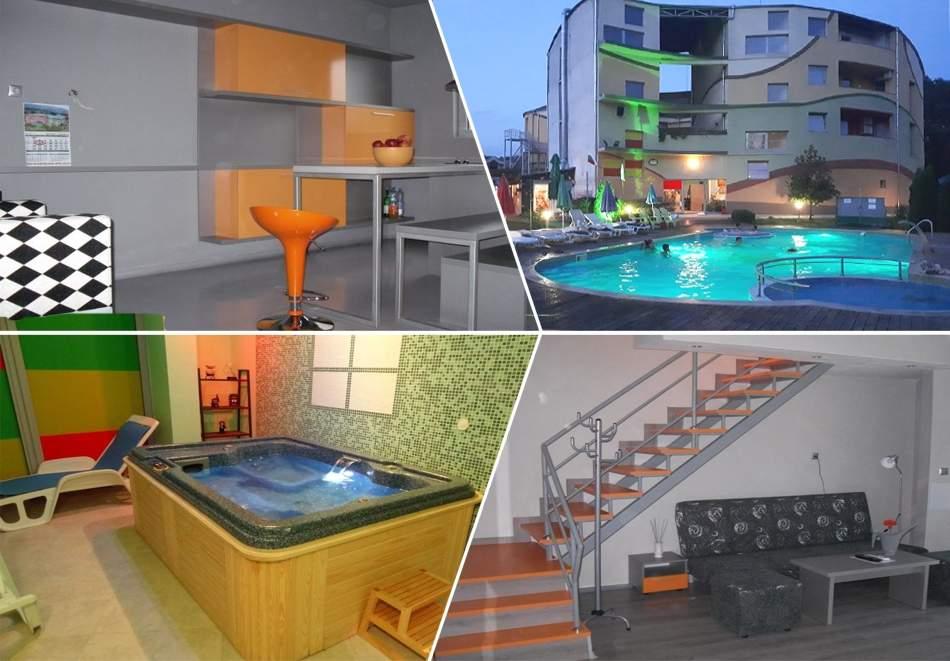 Октомври в Хисаря! Нощувка за двама или четирима + басейн, външно джакузи с минерална вода и сауна от Детелина
