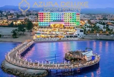 Лято 2019, Алания - АНТАЛИЯ, хотел AZURA DELUXE RESORT 5*! Автобусен ТРАНСПОРТ + 7 нощувки на база ULTRA ALL INCLUSIVE + на цени от 832 лв. на ЧОВЕК!