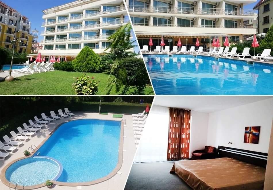 2 нощувки на човек на база All inclusive + басейн в хотел Дева, Слънчев бряг