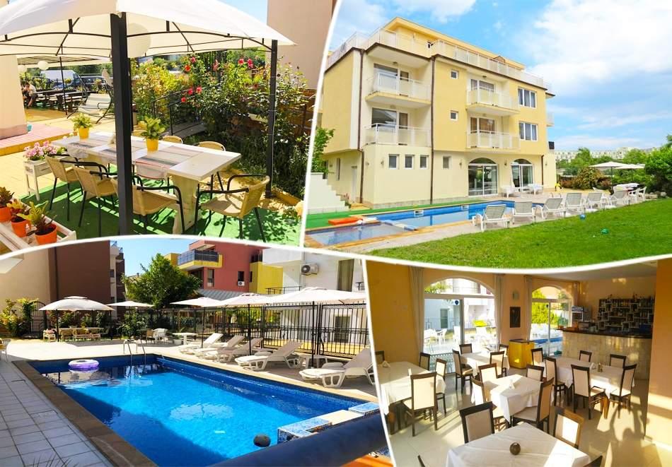 Отпочивайте в хотел Сага, Равда! Включва басейн и закуска! + Близък плаж