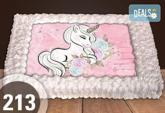 Торта за момичета със снимка 20, 25 или 30 парчета от Сладкарница Джорджо Джани