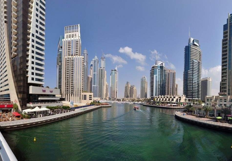 8 дневна почивка в Rose Park Al Barsha 4*, Дубай от октомври до декември 2021! Самолетен билет от София + 7 нощувки на човек със закуски и вечери + тур на Ду