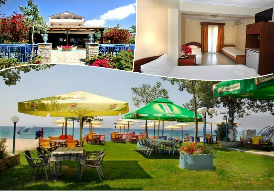 Отпочивайте в Хотел Angelos Garden, Гърция! Възползвайте се от вечеря и закуска!