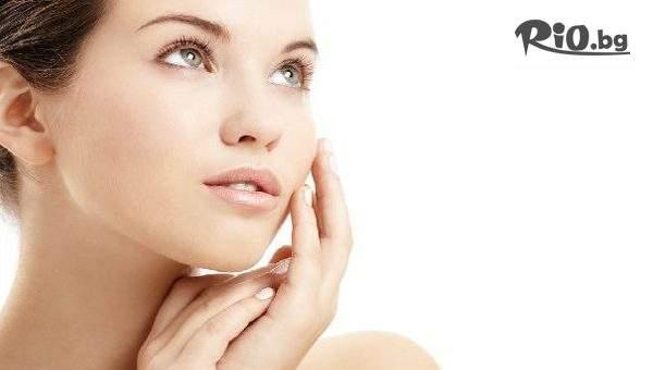 Професионално почистване на лице с ултразвук + подхранваща маска за лице и маска за ръце + бонус: оформяне на вежди, от Студио за красота Естетик