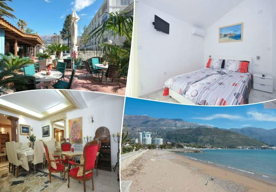 Море 2020 в Будва, Черна Гора! 5 или 7 нощувки на човек със закуски в хотел Oaza 4* +транспорт от Адриа Турс