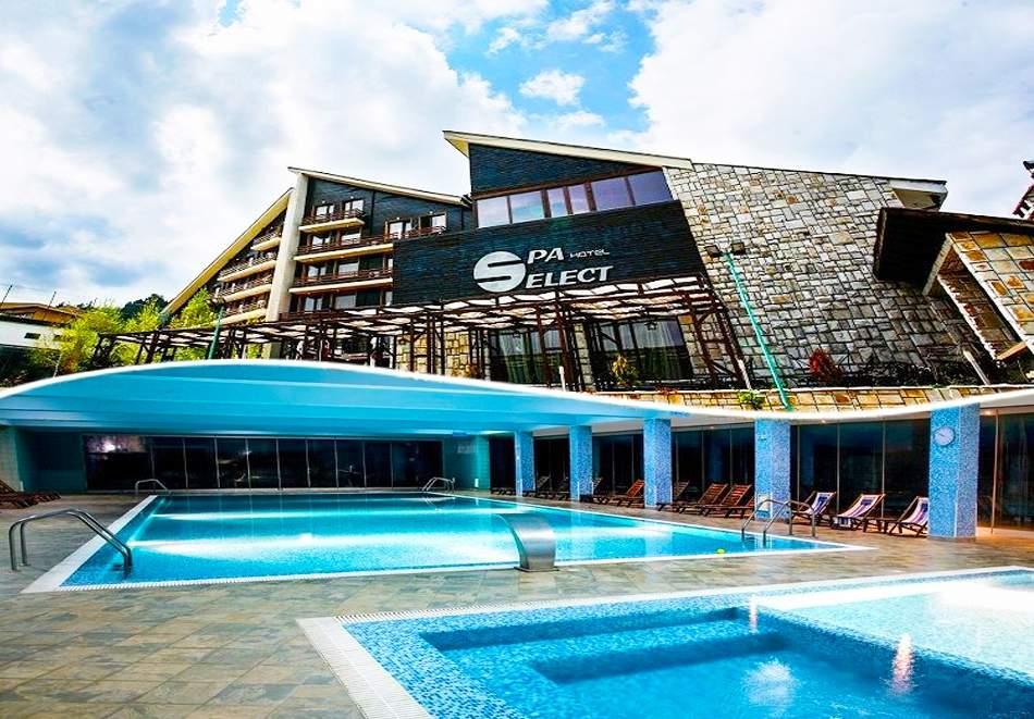 Отпочивайте в СПА хотел Селект****, Велинград! Включено пълно изхранване! + Басейн с минерална вода