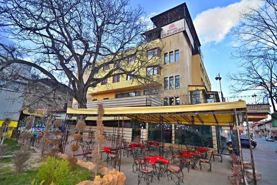 4 нощувки на човек на цената на 3 + закуски, вечери, топъл минерален басейн и СПА пакет от хотел България, Велинград