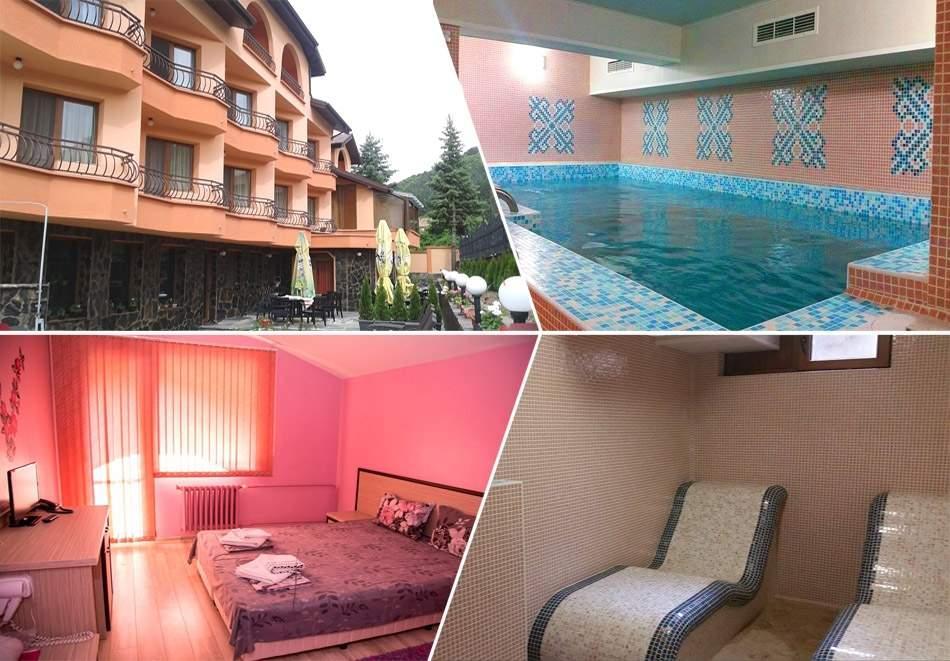Релаксирайте в хотел Емали Грийн, Сапарева Баня! Включва пълно изхранване! Плюс минерален басейн