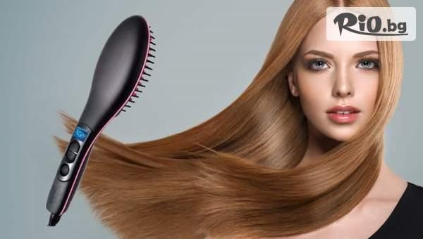 Четка за изправяне на коса, от Prodavalnikbg.com