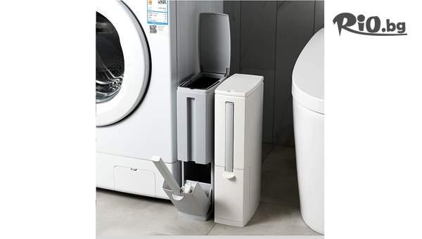 Четка за тоалетна с вградено кошче, от Topgoods.bg