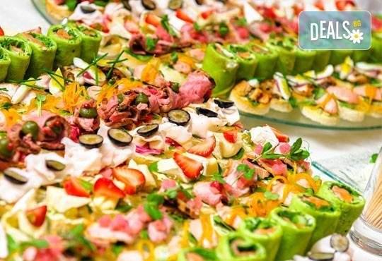 За Вашия празник! 100 вкусни и апетитни коктейлни хапки от H&D catering