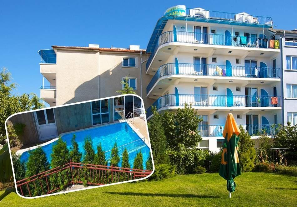 All inclusive light в хотел Елвира, Равда! Включва басейн!
