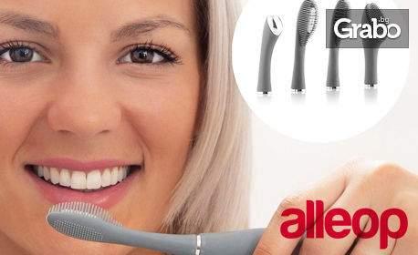 Електрическа четка InnovaGoods 2 в 1 за зъби и лице - с безплатна доставка