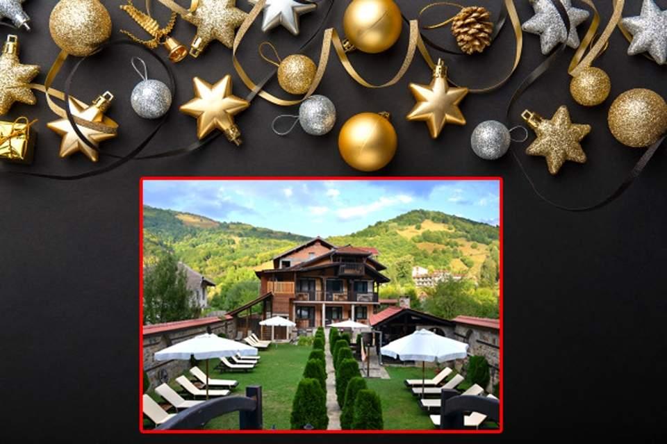 Посрещнете Коледните празници в хотел Къщата*3, Рибарица! Включва пълно изхрнаване!