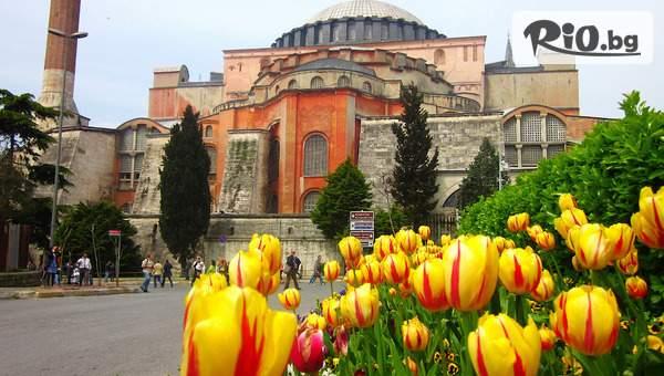 Екскурзия до Истанбул за Фестивала на лалето! 2 нощувки със закуски + транспорт, водач и посещение на Одрин, от Ривиера Тур