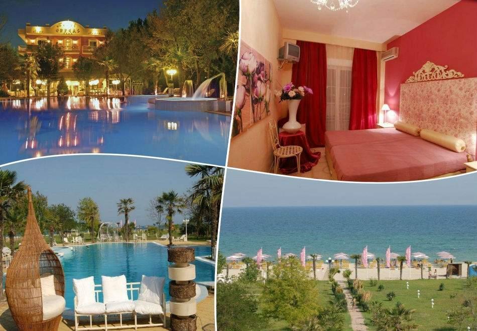 All Inclusive Light в Orfeas Blue Resort*3, Гърция! Възползвайте се от чадър на плажа