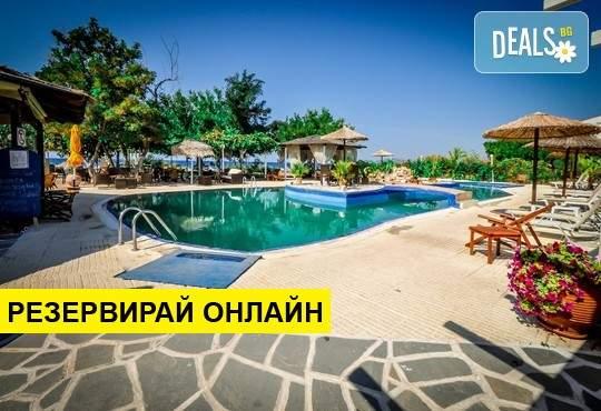 Нощувка на база RR,BB в Annas Star Beach Hotel 3*, Потос, о. Тасос