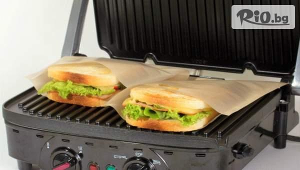 5 броя Термоустойчиви торбички за приготвяне на сандвичи с 58% отстъпка, от Topgoods.bg