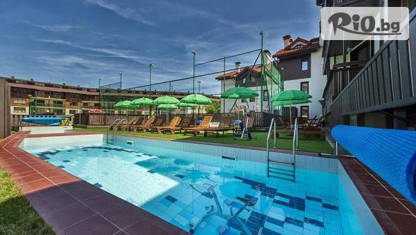 Голяма почивка в 7 Pools Boutique Hotel and SPA, Банско! Включва джакузи и басейни! + Опция за вечери/закуски