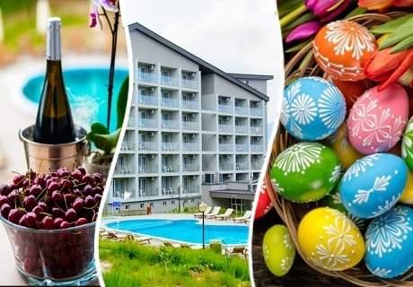 Великден в Парк Хотел Кюстендил! 2, 3 или 4 нощувки на човек със закуски и вечери, едната празнична + външен МИНЕРАЛЕН басейн и СПА