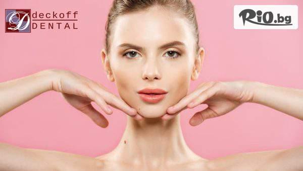 Инжективна мезотерапия на лице с хиалуронова киселина - дълбока хидратация и изглаждане на бръчки в определена област на лицето, от ДЕКОВ ДЕНТАЛ