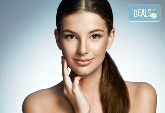 Дълбоко почистване на лице в 10 стъпки с висок клас козметика във VMs Beauty House